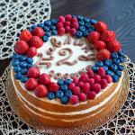 Торт-нэкед на детский день рождения